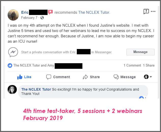 Testimonials - The NCLEX Tutor