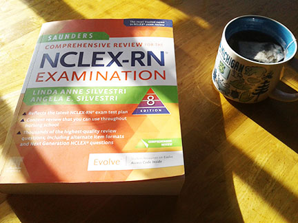 Review Saunders NCLEX book 2020