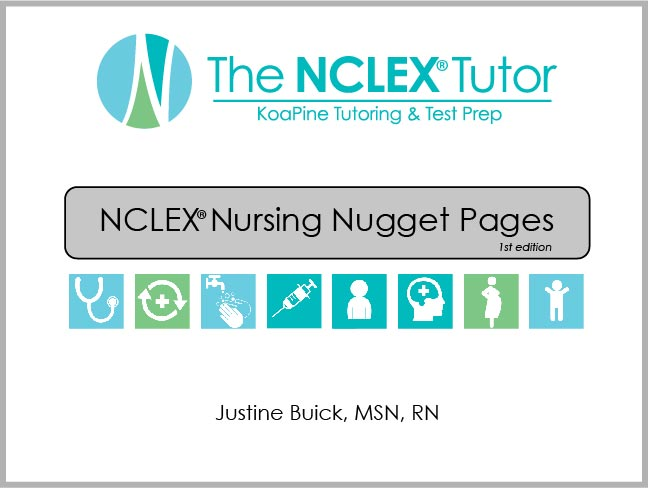 NCLEX Nursing Nugget Pages